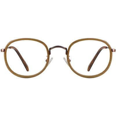 Round Eyeglasses 130374-c