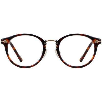 Round Eyeglasses 130393-c