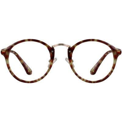Round Eyeglasses 130416-c