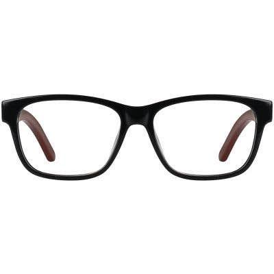 Wood Eyeglasses 130914-c