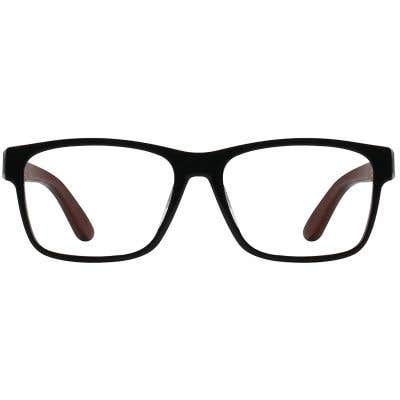 Wood Eyeglasses 130945-c