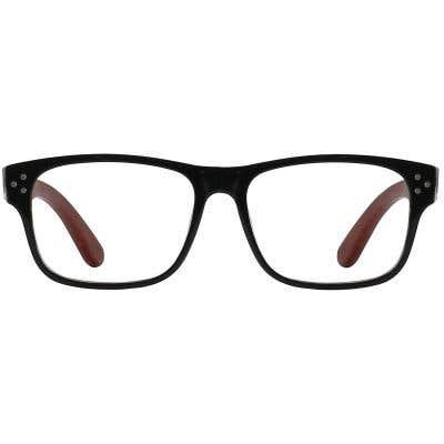 Wood Eyeglasses 130948-c