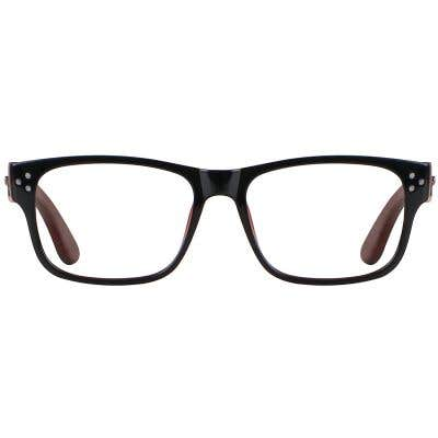 Wood Eyeglasses 130951-c