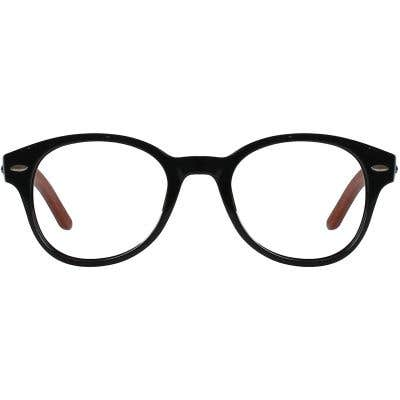 Wood Eyeglasses 130955-c