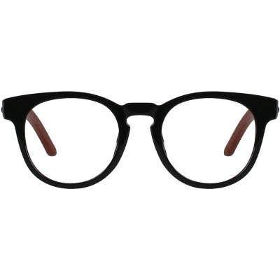 Wood Eyeglasses 130958-c