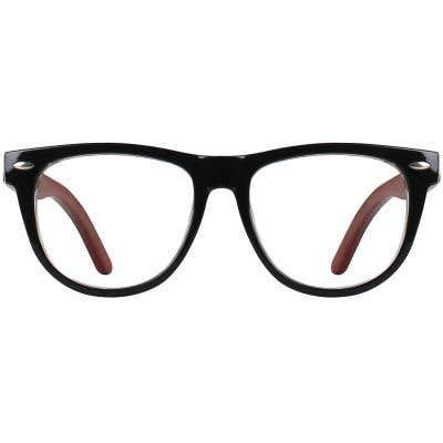 Wood Eyeglasses 130969-c