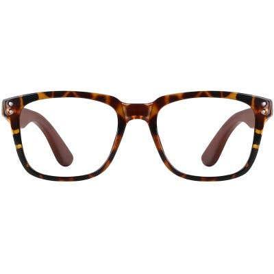 Wood Eyeglasses 130983-c