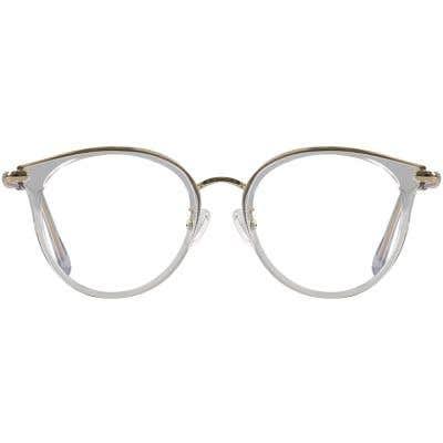 Round Eyeglasses 131015-c