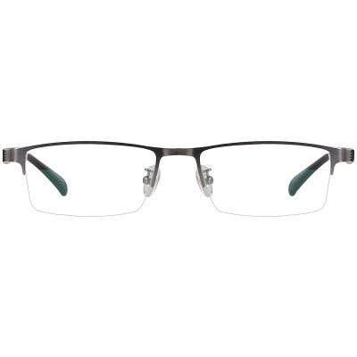 Rectangle Eyeglasses 131204-c