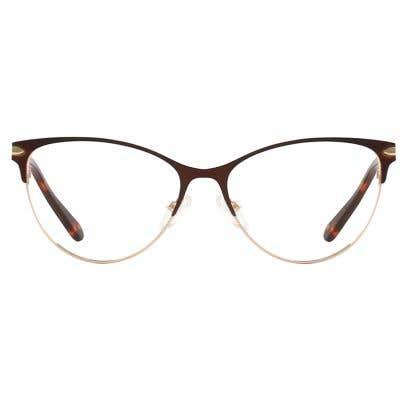 Cat Eye Eyeglasses 132098-c