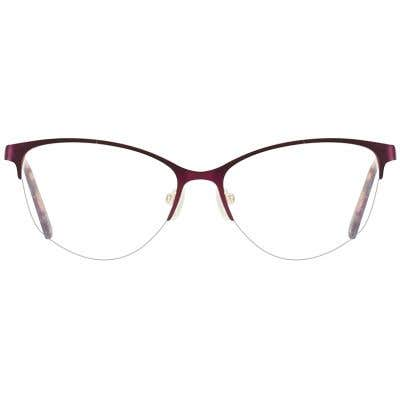 Cat Eye Eyeglasses 132111-c