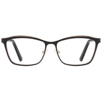 Rectangle Eyeglasses 132182-c