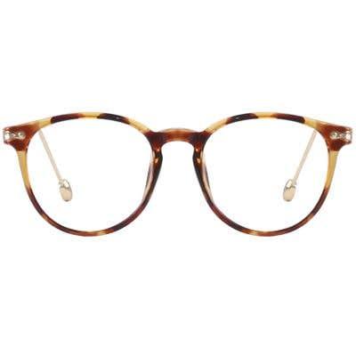 Round Eyeglasses 132403-c