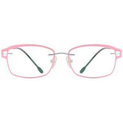 Rimless Eyeglasses 132514-c