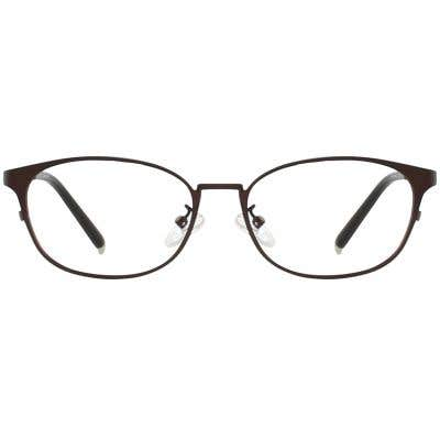 Oval Eyeglasses 132824-c