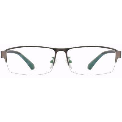 Rectangle Eyeglasses 132918-c