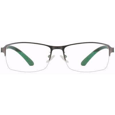 Rectangle Eyeglasses 132929-c