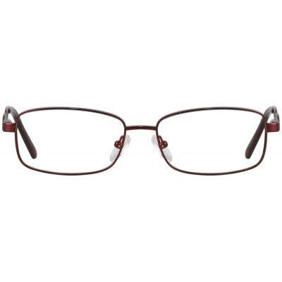 Rectangle Eyeglasses 133267a  2 Day Rush