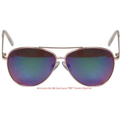 Pilot Eyeglasses 133681-c
