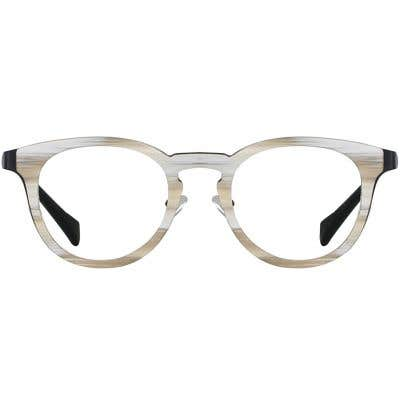 Wood Eyeglasses 133931-c