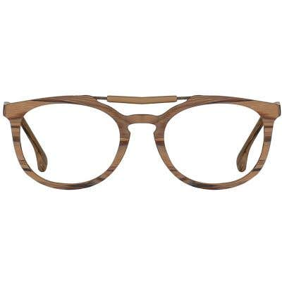 Wood Eyeglasses 133984-c