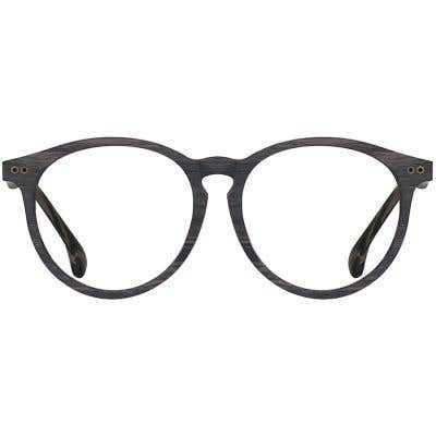Wood Eyeglasses 133995-c