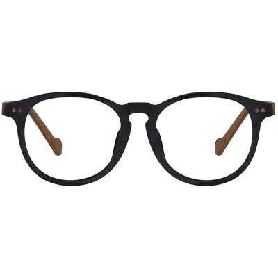 Wood Eyeglasses 134001-c