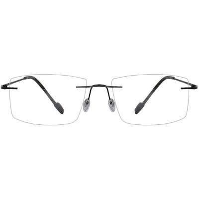Rimless Eyeglasses 134123-c