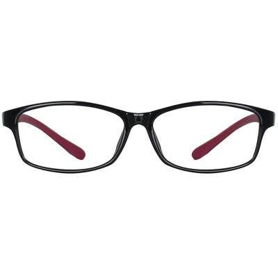Rectangle Eyeglasses 134687a  2 Day Rush