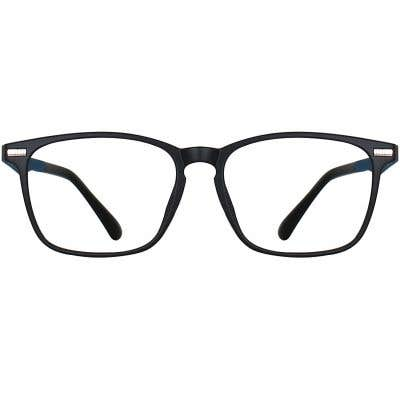 Rectangle Eyeglasses 134699a  2 Day Rush