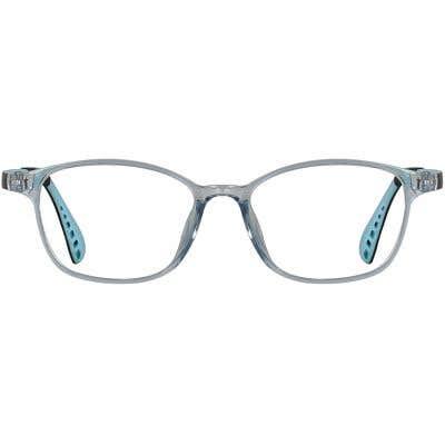 Rectangle Eyeglasses 134857a  2 Day Rush
