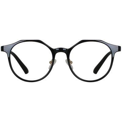 Round eyeglasses 134859a  2 Day Rush