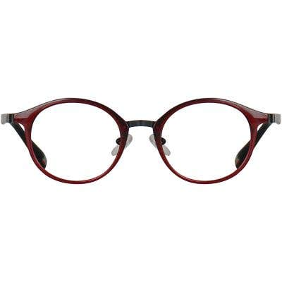 Round Eyeglasses 134897a  2 Day Rush