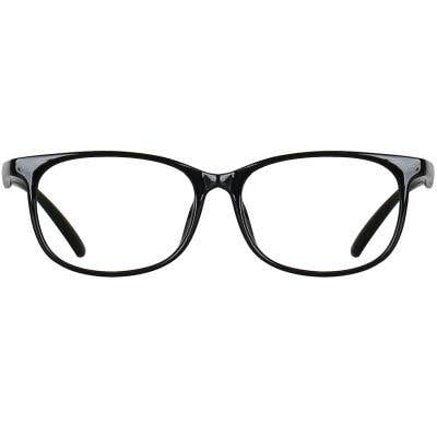 Rectangle Eyeglasses 134990a  2 Day Rush