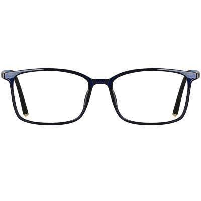 Rectangle Eyeglasses 135001-c