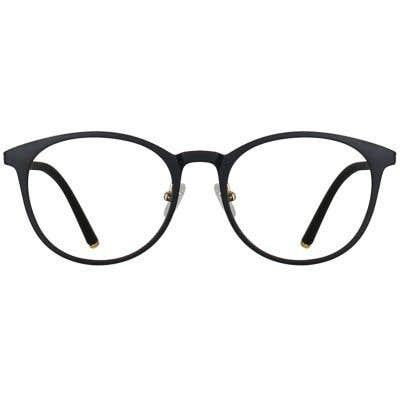 Round Eyeglasses 135067a  2 Day Rush