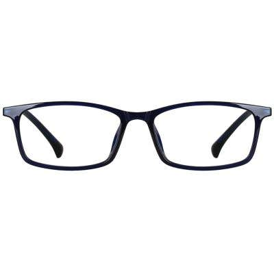 Rectangle Eyeglasses 135090a  2 Day Rush