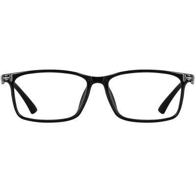 Rectangle Eyeglasses 135300a  2 Day Rush