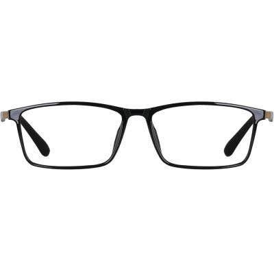 Rectangle Eyeglasses 135301a  2 Day Rush