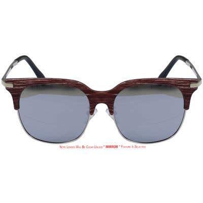 Browline Eyeglasses 135630-c