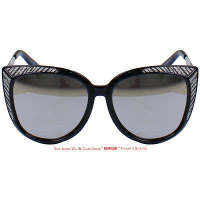 Cat Eye Eyeglasses 135648-c