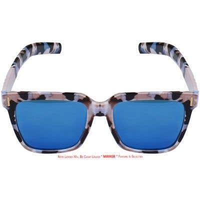 Rectangle Eyeglasses 135691-c