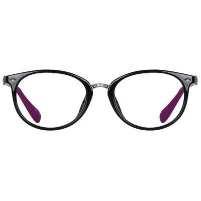 Oval Eyeglasses 135750-c
