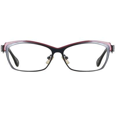Cat Eye Eyeglasses 135814-c