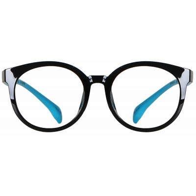Round Eyeglasses 135915-c