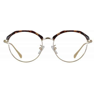 Browline Eyeglasses 135959-c