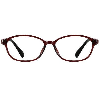 Oval Eyeglasses 136351-c