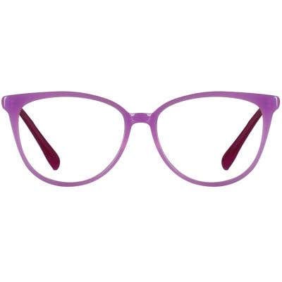 Cat Eye Eyeglasses 136368-c