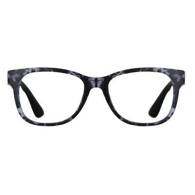 Rectangle Eyeglasses 136472a  2 Day Rush