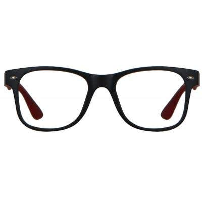 Rectangle Eyeglasses 136486a  2 Day Rush